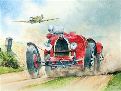 Lot 501-'Classic Meeting' by Bob Murray