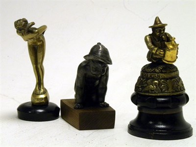 Lot 329-Three Accessory Mascots
