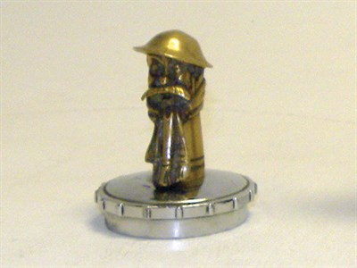 Lot 334-Old Bill Accessory Mascot