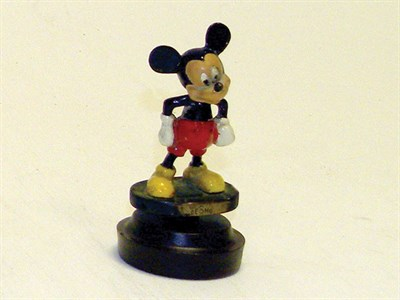 Lot 341-Desmo Mickey Mouse Mascot (Painted)