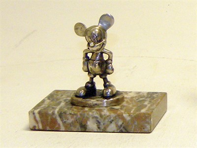 Lot 342-Desmo Mickey Mouse Mascot (Plated)