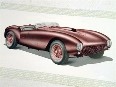 Lot 103 - Ferrari 375 Mille Miglia Brochure