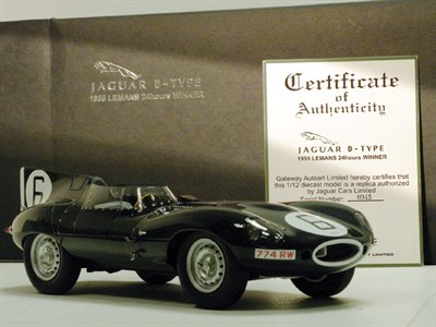 Lot 205-Jaguar D-Type Model