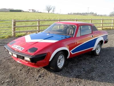Lot 59-1975 Triumph TR7 Rally Car
