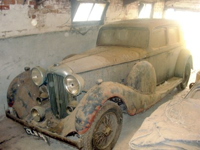 Lot 61-1936 Lagonda LG45 Pillarless Saloon