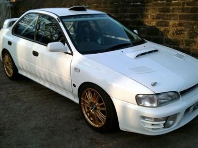 Lot 11-1995 Subaru Impreza STi