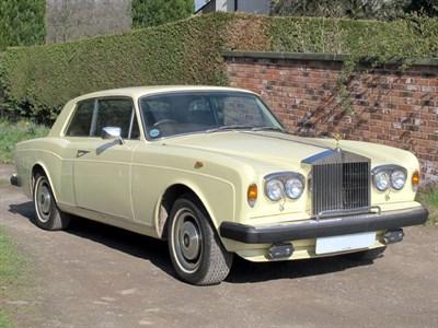 Lot 35-1979 Rolls-Royce Corniche II