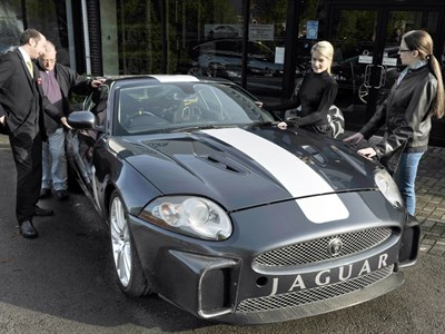 Lot 51-2007 Jaguar XKR