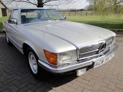 Lot 21-1981 Mercedes-Benz 380 SL