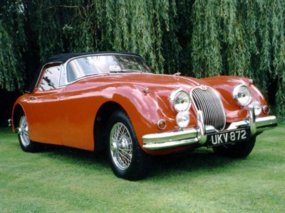 Lot 64-1959 Jaguar XK150 3.4 Litre Drophead Coupe