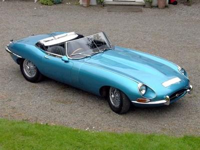 Lot 32-1967 Jaguar E-Type 4.2 Roadster