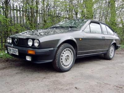 Lot 31-1982 Alfa Romeo GTV6 2.5