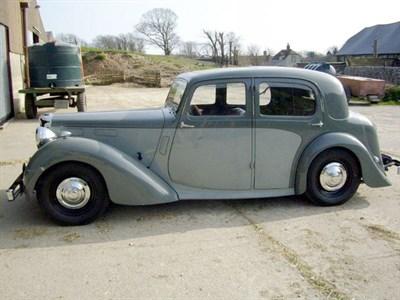 Lot 13-1949 Alvis TA14 Saloon