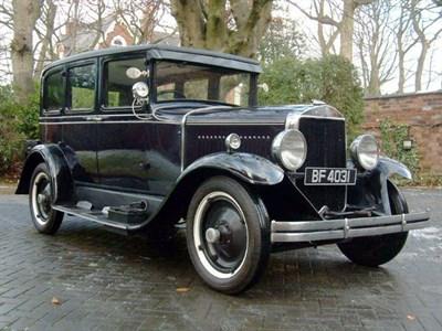 Lot 66-1928 Graham Paige 610 Sedan