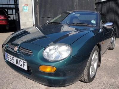 Lot 67-1997 MG F 1.8