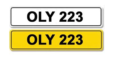 Lot 5-Registration Number OLY 223
