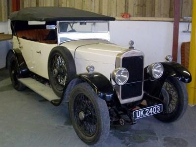 Lot 72-1926 Sunbeam 14/40 Tourer