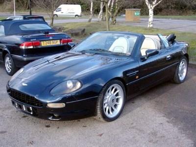 Lot 74-1997 Aston Martin DB7 Volante