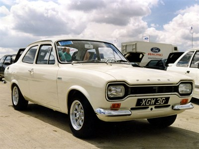 Lot 10-1968 Ford Escort Twin Cam