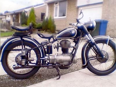Lot 1 - 1952 BMW R25/2