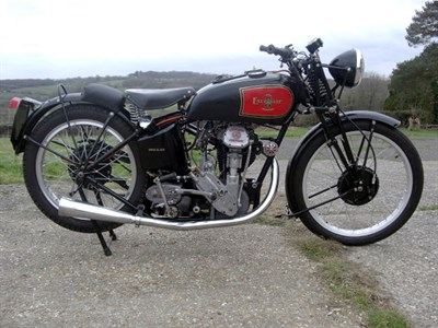 Lot 35 - 1935 Excelsior Manxman 250