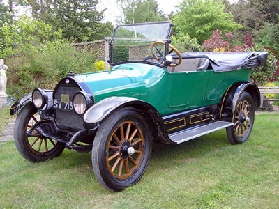 Lot 25 - 1915 Willys Overland Model 83 Tourer