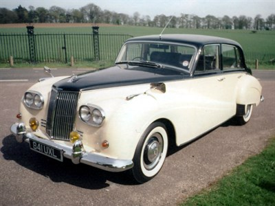 Lot 37-1960 Armstrong Siddeley Star Sapphire Mark II
