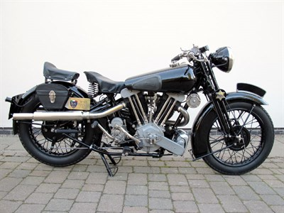 Lot 40 - 1938 Brough Superior SS100 Special Racing