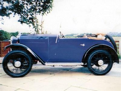 Lot 48 - 1932 Morris Minor Tourer