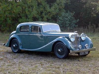 Lot 25-1947 Jaguar MK IV 3.5 Litre Saloon