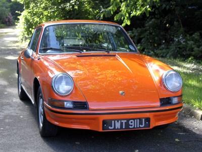 Lot 9 - 1971 Porsche 911 T