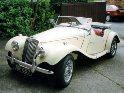 Lot 11 - 1954 MG TF 1250