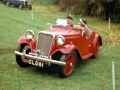 Lot 15-1935 Singer Nine Le Mans Special Speed