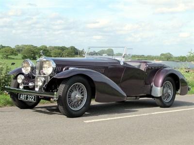 Lot 79-1937 Alvis 4.3 Litre Tourer