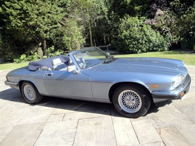 Lot 4 - 1989 Jaguar XJ-S 5.3 Convertible