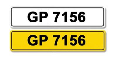 Lot 1-Registration Number GP 7156