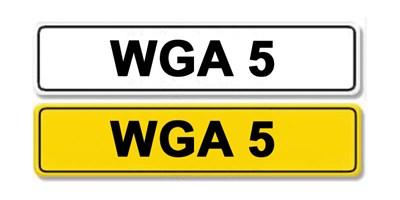 Lot 2-Registration Number WGA 5