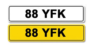 Lot 4-Registration Number 88 YFK
