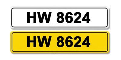 Lot 5-Registration Number HW 8624