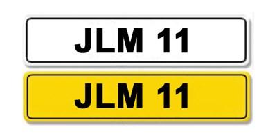 Lot 9-Registration Number 11 JLM