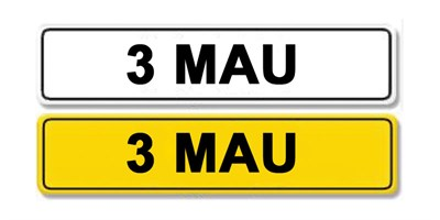 Lot 10-Registration Number 3 MAU