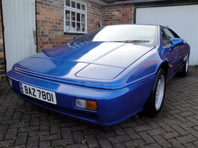 Lot 9 - 1989 Lotus Esprit