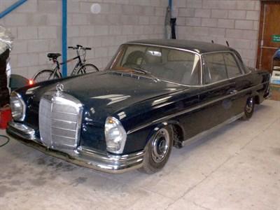 Lot 1-c.1963 Mercedes-Benz 300 SE Coupe