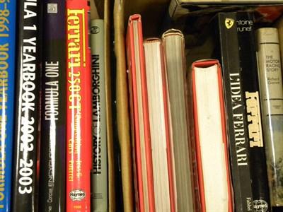 Lot 102 - Quantity of Motoring Books