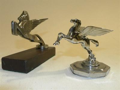 Lot 320 - Two Pegasus Accessory Mascots