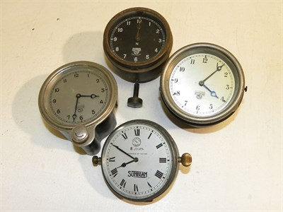 Lot 328 - Four Dashboard Instruments