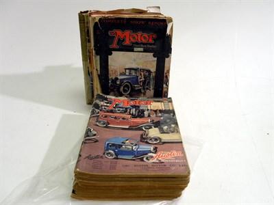 Lot 105 - 'Motor' Magazine