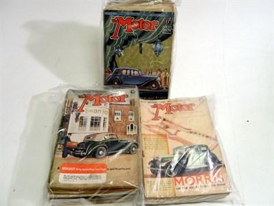 Lot 106 - 'Motor' Magazine