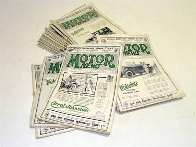 Lot 109 - Irish 'Motor News'