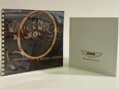Lot 110 - Two Aston Martin Sales Brochures
